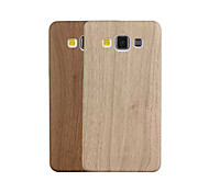 Fashion Wood Grain Pattern PU&PC Back Cover for Samsung Galaxy A3(Assorted Color)