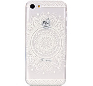 Hollow Flower Pattern Ultrathin Hard Back Cover Case for iPhone 5C