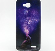 Wolf Pattern TPU Material Soft Phone Case for LG L90 D405
