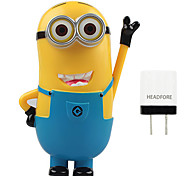 Disney Minion 8000mAh Power Bank External Battery For Iphone ,Samsung And Any USB Device