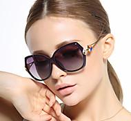 Gafas de Sol mujeres's Clásico / Elegant / Retro/Vintage / Modern / Moda / Polarizada De Gran Tamaño Negro / Rojo / Morado / GrisGafas de