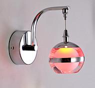 Lâmpadas de Parede LED Moderno/Contemporâneo Metal