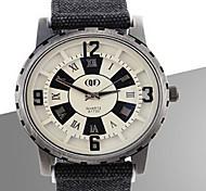 orologio fishtion grande pendenza quadrante di colore della vigilanza del silicone dello specchio degli uomini