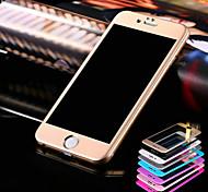 hzbyc® titane acier à l'arc 3D film de protection pour iPhone 6 / 6s
