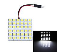 BA9S T10 festone 7W 180lm 6000k 36-SMD 5050 bianco lampade di lettura dell'automobile / luce dell'interno (12v)