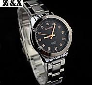 Men's  Fashion Quartz Water-Proof Analog Steel Belt Wrist Watch(Assorted Colors)