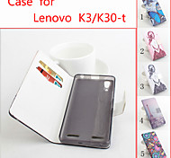 Protective PU Leather Magnetic Vertical Flip Case for Lenovo K3 (K30-T)(Assorted Colors)