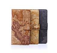 5.2 Inch Map Pattern PU Wallet Leather Case with Stand for Sony Z4(Assorted Colors)