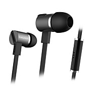 3.5mm In Ear Headphone with Microphone Music Earphone for iPhone 6 Samsung LG MP3 MP4