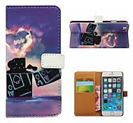 легче бумажник случай мобильного телефона для iPhone 5 / 5s