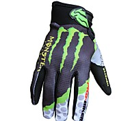 Guantes de moto Dedos completos Nailon/Poliéster/Licra M/L/XL Como la Imagen