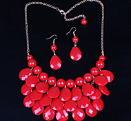 Women Vintage/Cute/Party/Casual Alloy Necklace/Earrings Sets