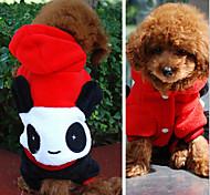 ABPET Lovely Dog's Panda Suit