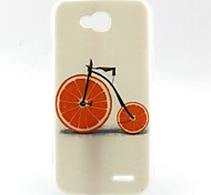Bicycle Pattern TPU Material Soft Phone Case for LG L90 D405