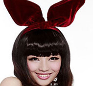 Fashion New Korean Velvet Hair Band Exaggerated Form Large Rabbit Ears Headband