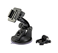 Gopro Car Accessories - Suction Cup Mount and Quick Release Buckle for Gopro Camera Hero 4, 3+, 3, 2, 1