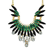 New Fashion Colored Gemstone Beautiful Women Shourouk Necklace