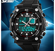 SKMEI® Men's Fashion Sporty Watch Analog Digital Display Calendar/Chronograph/Alarm/Water Resistant