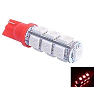 T10 2.5W 250LM 13x5050 Green/Red/Blue/Cool/Warm Light for CarDashboard/Door/Trunk LampsDC 12V
