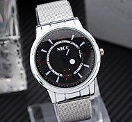 Men'S Watch Simple Cool Watches Fishtion Belt Alloy Watch Cool Watch Unique Watch
