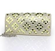 Handbag Faux Leather Evening Handbags/Clutches With Crystal/ Rhinestone