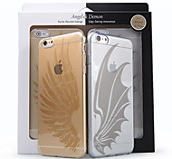 Acase Nisky Ultra Slim TPU Case with Special Design Angel and Demon Sereies for iPhone6 Plus