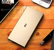 Cool Change 12000mAh Ultra-Thin Metal Polymeride Smart Power Bank for Cell Phones and Pads