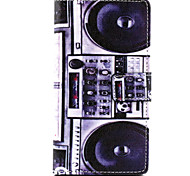 Speaker Design PU Leather Full Body Case with Stand for Sony Xperia M2