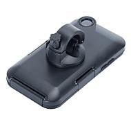 bicicleta a prueba de golpes del manillar de la bicicleta de 360 grados de rotación de montaje la caja del sostenedor para el iphone 6s 6 más