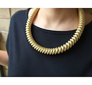 Fashion Alloy Necklaces In Golden Fit For Many Dresses Free Shipping
