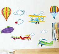 стены стикеры стены наклейки стиль воздушном шаре наклейки ПВХ стены