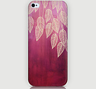 Leaf Pattern Phone Back Case Cover for iPhone5C