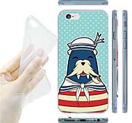 mar modelo leones marinero TPU vuelta suave para el iphone 6 / 6s