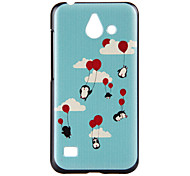 Penguin Pattern PC Material Phone Case for Huawei Ascend Y550