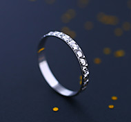 Japan and South Korea S925 Silver  Stars in the Sky   Band Rings