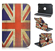 8 Inch National Flag Pattern High Quality 360 Degree Rotation PU Leathe Case for Samsung Galaxy Note 8.0 N5100