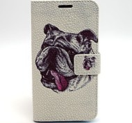 Lovely Dog Leather Case with Stand for Samsung Galaxy S6/S5/S4/S3/S3 mini/S4 mini/S5 mini/ S6 edge