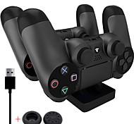 estación de carga PS4 - estación dock cargador usb dual para PS4 (enviar un par pulgar apretones de palo cap)