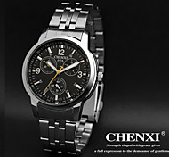 CHENXI® Men's Dress Watch Classic Design Silver Strap Wrist Watch Cool Watch Unique Watch