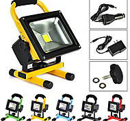 Waterproof 10W 900LM Cold/Warm White 6000K/3000K Cars Charge Portable Portable Emergency Floodlight (A100-240V)