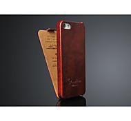 haute cas flip qualité pour iPhone 5