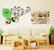 Fashionable Creative Modern Novelty Shape  Sitting Room Wall Clock
