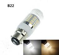 gu10 / G9 / e14 / e2627 / b22 7w 40xsmd 5.630 bombillas 1200-1600lm blanco caliente / frío blancos decorativos de maíz AC110-240V \ AC220-240V