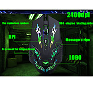2015 New best 4D 2400 dpi super laser gaming mouse USB wired Professional game mice For PC Computer Desktop Gamer