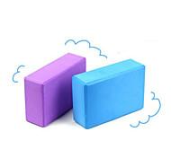 Блоки для йоги 22.9*15.2*7.6 Экологию / Non Toxic / Без запаха 3.5 mm Розовый / Синий / Фиолетовый