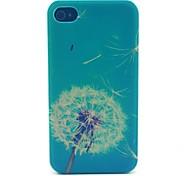 paardebloem patroon pc materiaal telefoon Case voor iPhone 4 / 4s