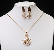 European Fashion  Hollow Jewelry Set series 4