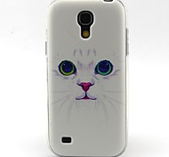 modello del gatto materiale TPU soft phone per mini i9190 Samsung Galaxy S4