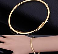 u7® plaqué bracelets manchettes elegent swa autrichienne strass or 18k bracelets cadeau de bijoux pour les femmes
