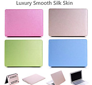2 in 1 Candy Colors Soft Touch ABS+Plastic Silk Case Cover for Apple Macbook Air 11'' (Assorted Color)